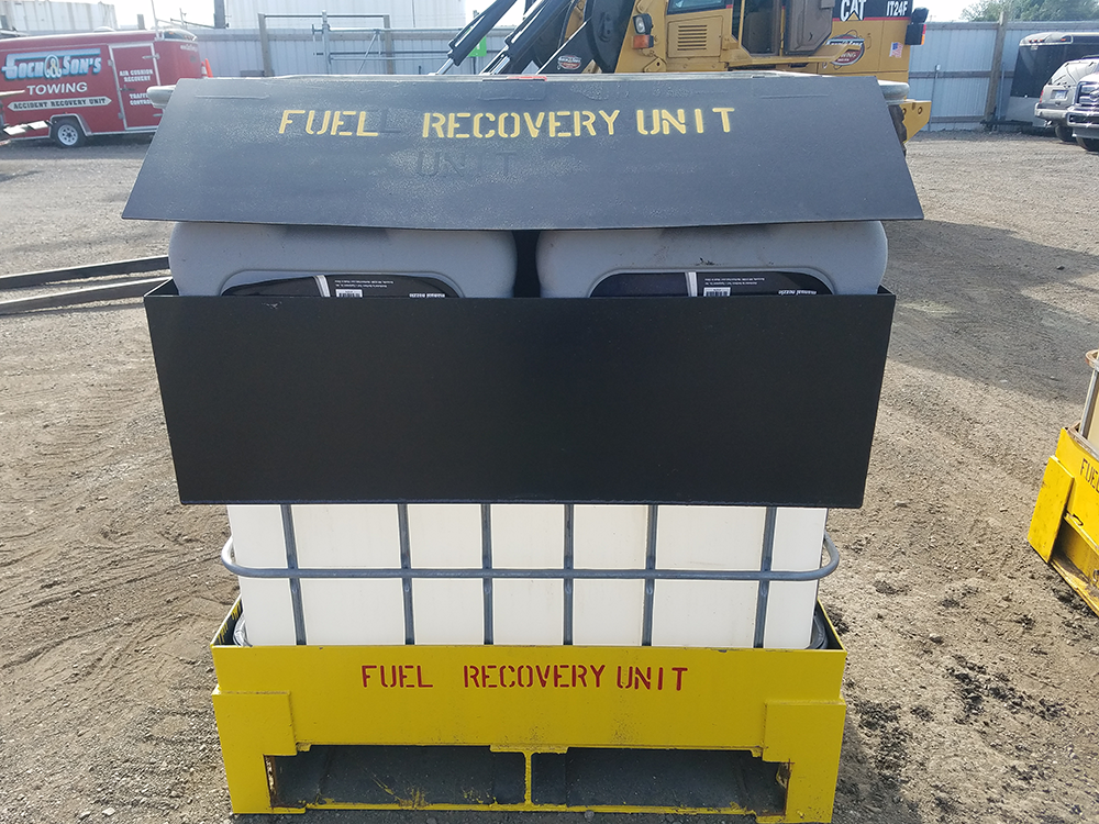 fuel recovery unit