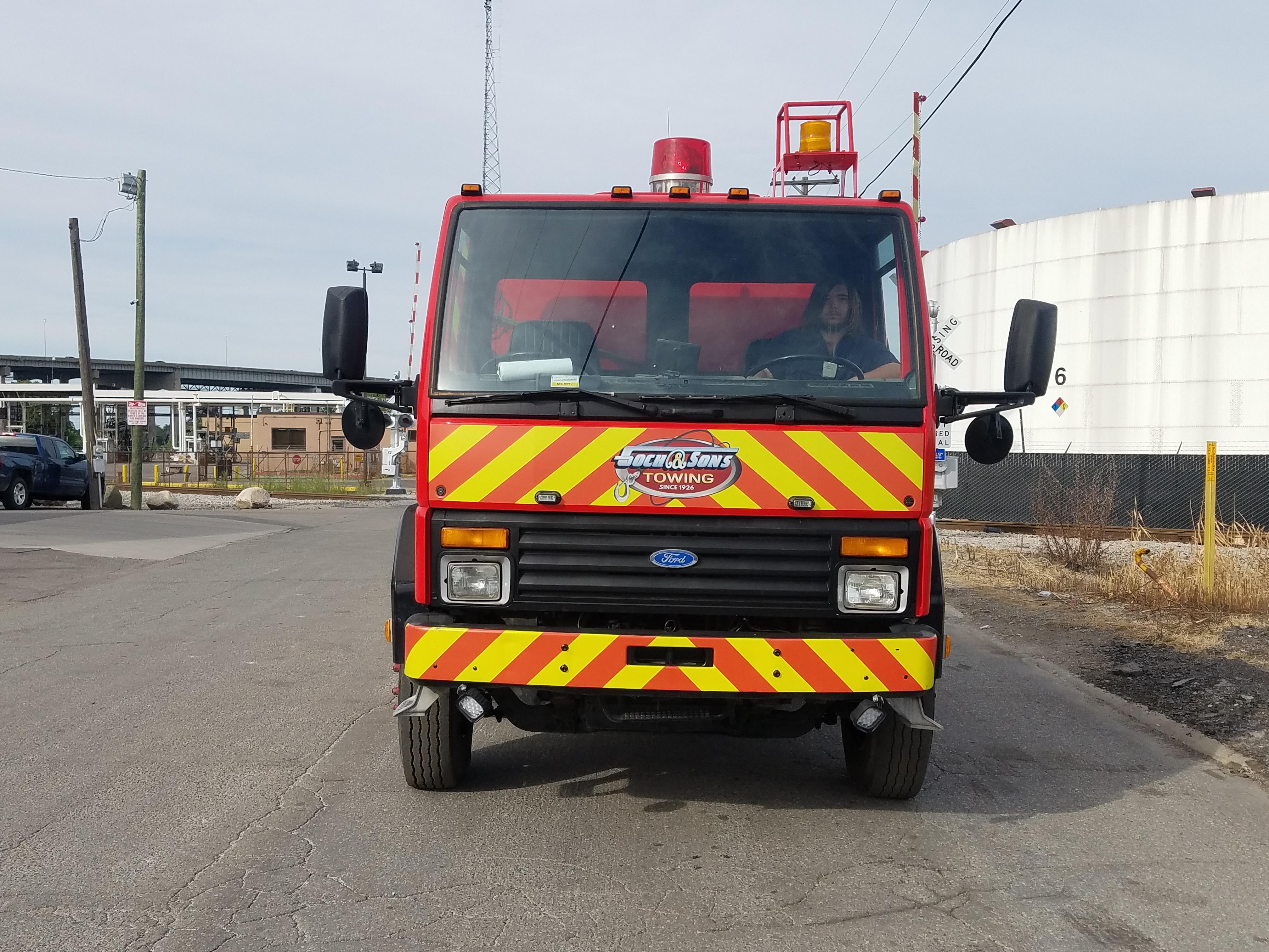 spill response truck