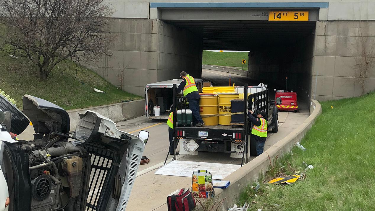 highway fuel spill